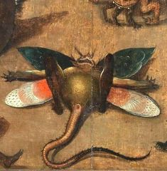 From Bosch Temptation of St Anthony Dutch Painters, Renaissance Art, Hieronymus Bosch, Hieronymus Bosch Paintings, Painting, Bosch, Art, Hieronymous Bosch, Unusual Art