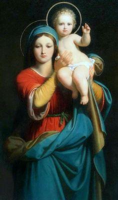 Sus brazos son la Torre donde se levanta a darnos Su Santa bendición.