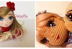 DIY como bordar ojos para tus muñecas amigurumi Doll Tutorial, Fairy Dolls, Softies, Doll Patterns, Pin Cushions, Crochet Toys, Needlework, Doll Clothes, Projects To Try
