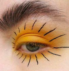"Makeup photography gold eyes Best Ideas History of eye makeup ""Eye care"", in other Makeup Inspo, Makeup Art, Makeup Inspiration, Hair Makeup, Makeup Eyes, Makeup Morphe, Body Makeup, Eye Makeup Blue, Red Dress Makeup"