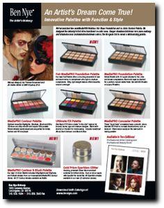 Ben Nye professional makeup & catalogs