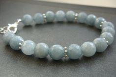 Hey, I found this really awesome Etsy listing at https://www.etsy.com/listing/182844146/aquamarine-bracelet-gemstone-bracelet