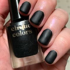 """Leahanne on Instagram: """"My nails make me feel like I am standing, listening, through anger and grief. @cirquecolors #cirquecolorsmementomori"""" Memento Mori, Grief, My Nails, Nail Polish, How To Make, Color, Beauty, Instagram, Manicure"""