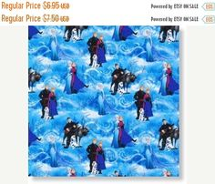 "❘❘❙❙❚❚ ON SALE ❚❚❙❙❘❘    ❘❘❙❙❚❚ ON SALE ❚❚❙❙    GORGEOUS ""Sisters Forever n Friends"" Fabric--from The Movie ""FROZEN"" --Hard Find...This listing is for 1/2 yd x 44in Quilting Cotton...Additional yardage available upon request...limited fabric readily available. This fabric is Free Flowing...Great for lots of projects...AVAILABLE now...will sell out quickly...    SPECIALS:    40-70% off Patterns n Books SALE...    FREE Shipping on 3rd and 4th items when purchased within 24 hrs of 1st item…"