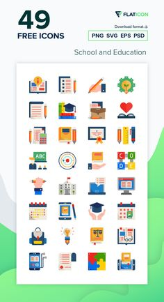Download now this free icon pack from Flaticon, the largest database of free vector icons Vector Icons, Vector Free, Education Icon, Free Icon Packs, Edit Icon, Icon Font, Kids Rugs, School