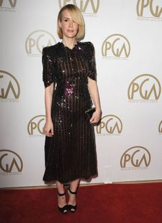 Producers Guild Awards 2014 Red Carpet: What Lupita Nyong'o, Claire Danes, and Others Wore:fashion:glamour.com