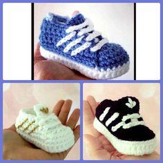 zapatillas adidas al crochet paso a paso
