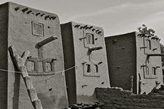 Africa | Dogon granaries - Mali |©Frank Janssens