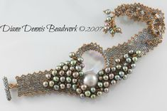 Digital Instructions/Tutorial for Let's Get Cuffed Bracelet Beaded Cuff Bracelet, Beaded Bracelet Patterns, Seed Bead Bracelets, Seed Bead Jewelry, Seed Bead Earrings, Beading Patterns, Beaded Earrings, Seed Beads, Diy Jewelry