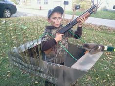 Duck Dynasty halloween costume made by yours truly :) this would be my kid if I had one!