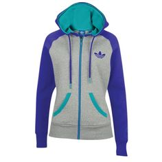 6dc92656da4 adidas Originals Trefoil FZ Hoodie - Women s at Foot Locker Foot Locker