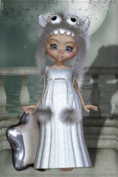 Kiki Cartoon Pics, Cartoon Art, Pretty Art, Cute Art, Bear Halloween, Portrait Cartoon, Elves And Fairies, Disney Artwork, Sweet Pic