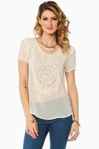 Joanna Blouse in Ivory