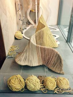 A behind-the-scenes glance of our Sand Dunes inspired window display at our Guildford Branch