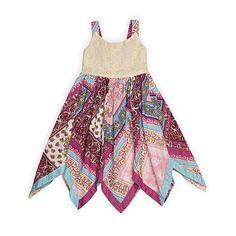 Blueberi Boulevard Infant & Toddler Girl's Sleeveless Dress - Paisley