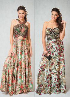 Vestidos floridos são umas das peças mais querida das mulheres. Nós preparamos algumas fotos e dicas para inspiração. Veja algumas: