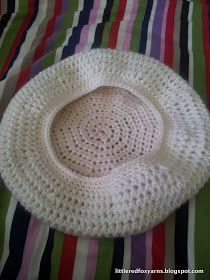 I have a tried and true favourite pattern for a beret style hat with a lovely flower motif ( pattern and hat I made ) but for g...