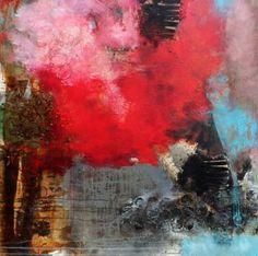 """Saatchi Art Artist Claudia Geil; Painting, """"Die Welle"""" #art"""