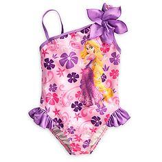 Rapunzel Swimsuit for Girls | Swim UPF 50 | Disney Store
