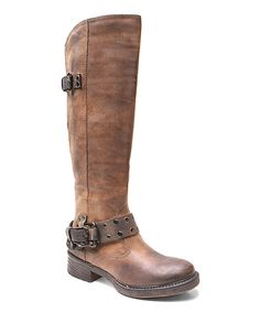 Look at this Two Lips Brown Master Boot on #zulily today!