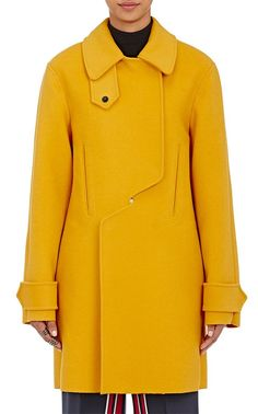 25 Stylish Winter Coats That Are Actually Warm #refinery29  http://www.refinery29.com/warm-dressy-coats#slide-1  Cedric Charlier Double Breasted Peacoat, $1,995, available at Barneys. ...