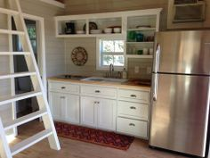 Kanga 16x26 tiny house - kitchen