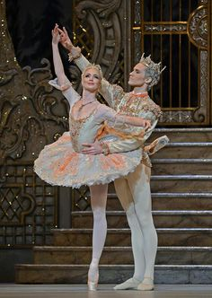 Lauren Cuthbertson and Cory Stearns #Sugar Plum and her Prince...