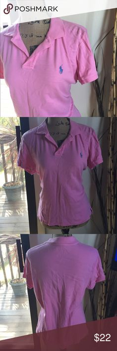 🆕 Ralph Lauren Sport polo very cute! 100% cotton. Says xl but runs small, more suited for a large. 👺NO TRADES DONT ASK! ✌🏼️Transactions through posh only!  😻 friendly home 💃🏼 if you ask a question about an item, please be ready to purchase (serious buyers only) ❤️Color may vary in person!-inc. pink!  💗⭐️Bundles of 5+ LISTINGS are 5️⃣0️⃣% off! ⭐️buyer pays extra shipping if likely to be over 5 lbs 🙋thanks for looking! Polo by Ralph Lauren Tops Blouses