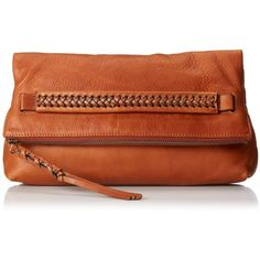 FRYE Jenny Foldover Clutch (1.035 VEF) ❤ liked on Polyvore featuring bags, handbags, clutches, frye handbags, frye purse, frye, fold over handbag and foldover handbag