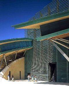 Padre Pio Pilgrimage Church in San Giovanni Rotondo designed by Renzo Piano. Renzo Piano, Tadao Ando, Richard Meier, Lebbeus Woods, Shigeru Ban, Steven Holl, Rem Koolhaas, Peter Zumthor, John Pawson
