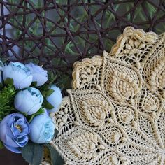 Discover thousands of images about Crochet Pattern doily Fernanda 2 versions Doily Art, Lace Doilies, Crochet Doilies, Crochet Flowers, Crochet Home, Love Crochet, Thread Crochet, Crochet Stitches, Crochet Mandala Pattern