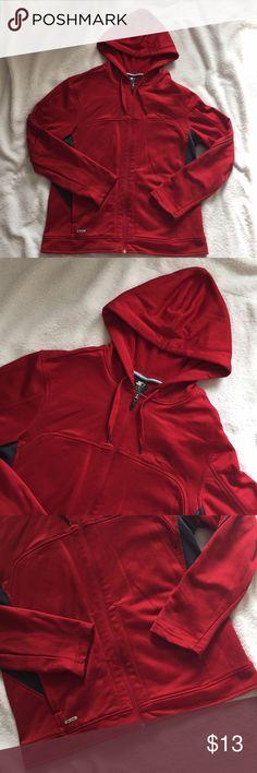 SHOWNO Mens Thumb Hole Pure Color Zip Up Hooded Sweatshirts Jacket Coat