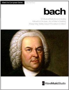 Bach | Meet the Composer Series Piano Book, Vol. 4 - Digital Print http://makingmusicfun.net/htm/f_printit_free_printable_sheet_music/bach-piano-ebook.htm