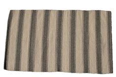 Unique wool carpet hand woven 84x142cm Ascendis CAsA3