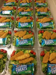Crispy Chicken Salad at the High School