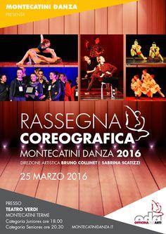 Montecatini Danza Rassegna Coreografica 2016 per scuole gruppi e compagnie emergenti... Vi aspettiamooooo!!!!!!!!  www.montecatinidanza.it