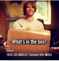 What's in the box?! Oh Deeks it's another box ;)