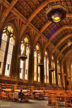 Suzzallo Library HDR University of Washington | Flickr - Photo Sharing!