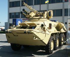 BTR-3E1M Armored Personnel Carrier (Ukraine)