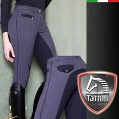 would love a pair of these equestrian inspired Tattini Breeches Italy