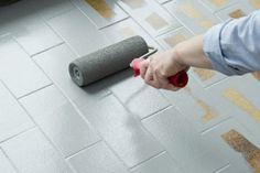 Fußbodenbelag Streichen ~ Fliesen streichen mit kreidefarbe interior