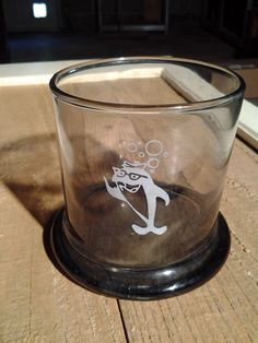 Vintage Charlie Tuna tumbler glass for sale at Painted Shovel in Avondale, AL.
