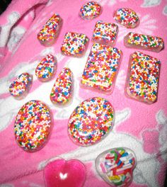 Resin charms, sprinkles, candy!