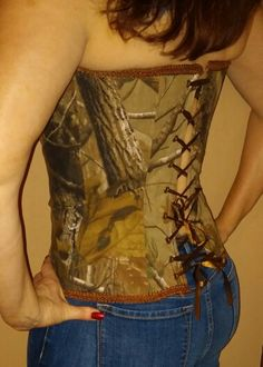 75d156195da RealTree camo with chocolate brown trim. Exclusively by Tailgunner Apparel