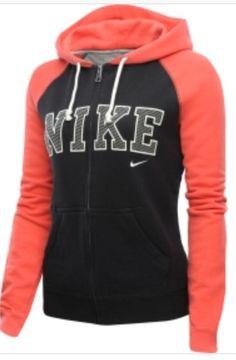 Love! Nike sweatshirt.