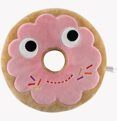 The Giant Peach - Kidrobot - 12 Inch Yummy Donut Plush (Pink Edition), $24.95 (http://www.thegiantpeach.com/kidrobot-12-inch-yummy-donut-plush-pink-edition/)
