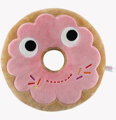 The Giant Peach - Kidrobot - 12 Inch Yummy Donut Plush (Pink Edition), $24.95 (http://www.thegiantpeach.com/kidrobot-12-inch-yummy-donut-plush-pink-edition/)