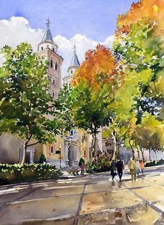 Nuestra Senora De Las Angustias Painting by Margaret Merry