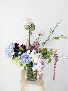 Luxe Flowers in Vase