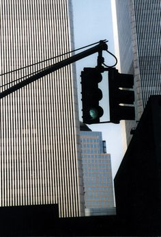 Ralph Gibson. The two WTC buildings.